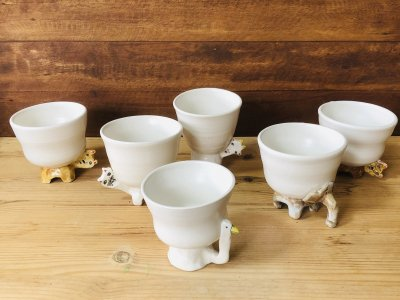 室井雑貨店さんのカップ(トリ)