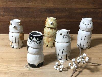 室井雑貨店さんのとっくり&お猪口セット(イヌ)