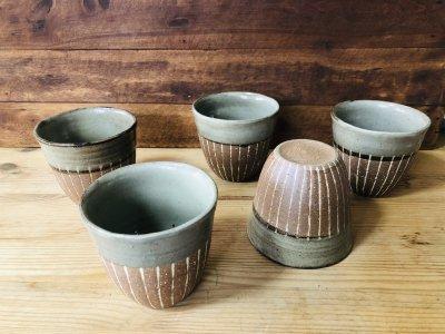 沖縄 工房コキュ 象嵌フリーカップS 可愛いフリーカップです。