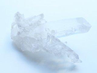 【Q197】水晶  / アーカンソーで生まれた水晶クラスター