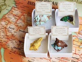 【CCCS1】アメリカ鉱物 / ユタ州とネバダ州で採れた鮮やかな鉱物セット