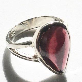 天然石アクセサリー 指輪 ガーネット #10