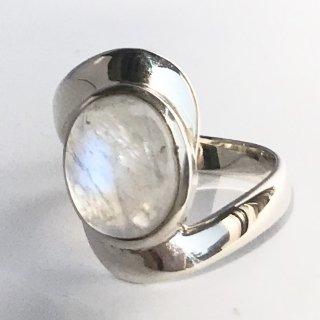 天然石アクセサリー 指輪 ムーンストーン #13