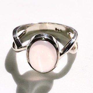 天然石アクセサリー 指輪 ローズクォーツ #14