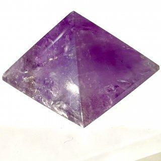 天然石 飾り物・置き物 アメジスト ピラミッド