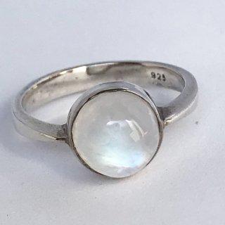 天然石アクセサリー 指輪   ムーンストーン #11
