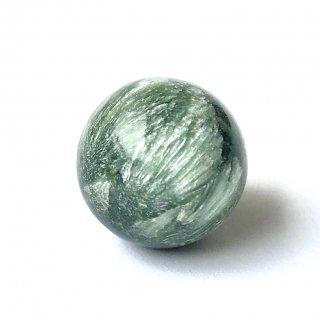 天然石 丸玉 セラフィナイト  15mm
