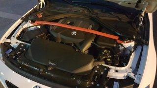 KCdesign フロントストラットタワーバー   BMW F30/F31/F34/F32/F33/F36 B48 B58