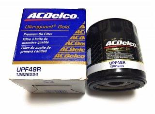 ACデルコ オイルフィルター Ultraguard Gold UPF48R 純正品番12626224 シボレー コルベット ベースグレード Z06 ZR1 6.2L 7.0L