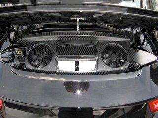 カーボンエンジンカバー 6ピースセット  ポルシェ 991 カレラ
