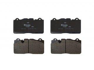 シボレー C6 コルベット Z06 ZR1 フロントカーボンブレーキパッド 左右セット 171-1010 GM22956252