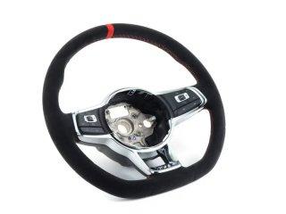 VW 純正 GTIクラブスポーツ ステアリングホイール  6MT用/DSG用