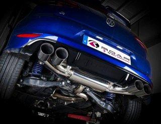 ROAR キャタバックエキゾースト マフラー VW ゴルフ MK7 R