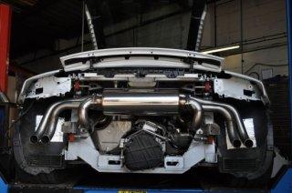 MILLTEK キャタバックエキゾースト レースバージョン AUDI アウディ R8 V10  SSXAU232