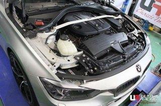 UltraRacing フロントストラットタワーバー BMW F30 320d