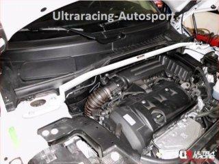 UltraRacingフロントストラットタワーバー BMW MINI Country Man R60 1.6