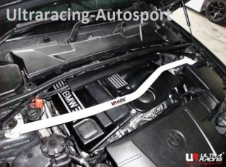 UltraRacingフロントストラットタワーバー BMW E84 X1 2.0