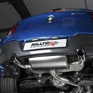 MILLTEK BMW 135i F20 5ドア キャタバックエキゾースト SSXBM964