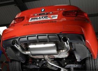 MILLTEK キャタバックエキゾースト BMW F30 328i  SSXBM961