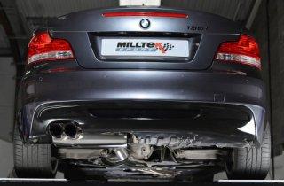 MILLTEK ターボバックエキゾースト  BMW 135i E82 N55  SSXBM953