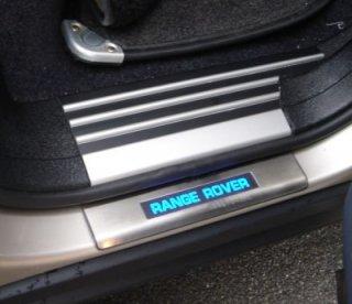 RangeRover レンジローバー LED イルミスカッフプレート 2008-