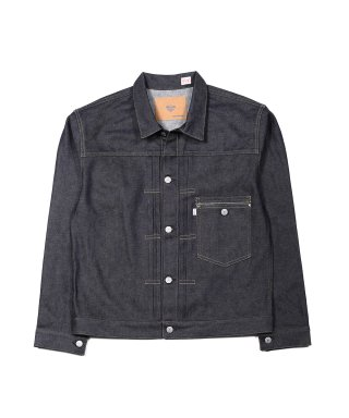 YOUNG & OLSEN YOUNG DENIM BLOUSE(RAW)