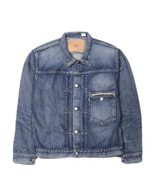 YOUNG & OLSEN YOUNG DENIM BLOUSE(WASHED OUT)