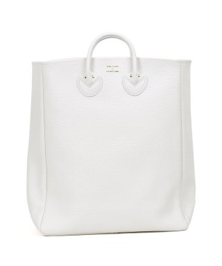 YOUNG & OLSEN EMBOSSED LEATHER TOTE L