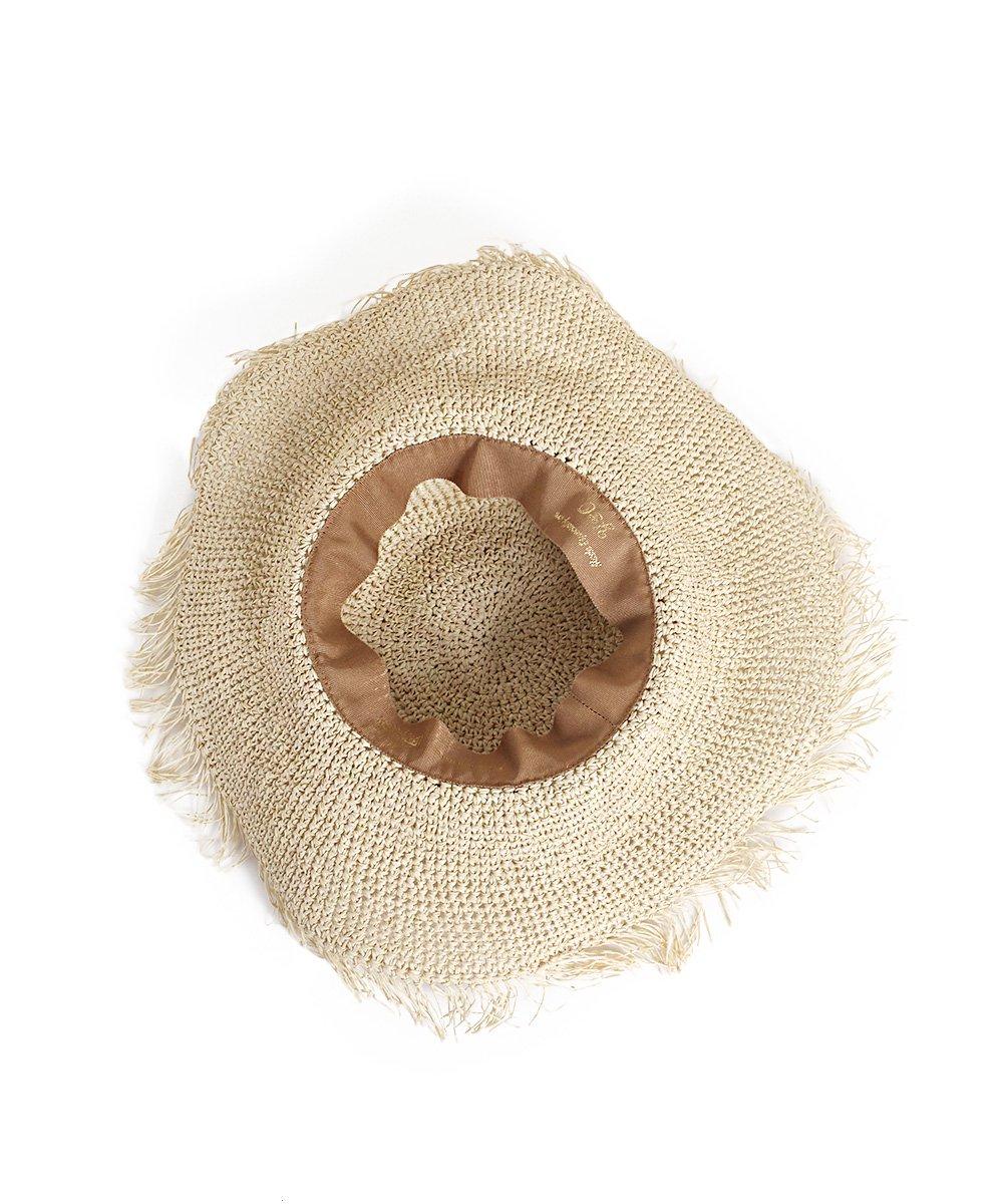 ヤングアンドオルセン FRINGE PAPER HAT 詳細画像3