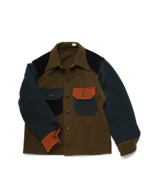 YOUNG & OLSEN CRAZY WOOL CPO JACKET