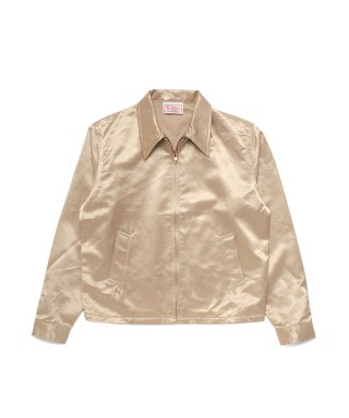 YOUNG & OLSEN SATIN SWING JACKET
