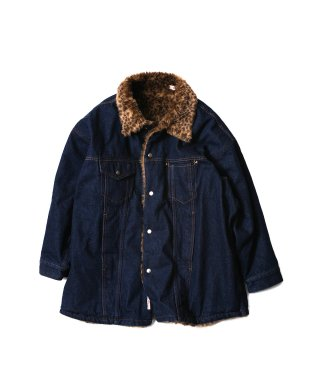 YOUNG & OLSEN REVERSIBLE DENIM JACKET