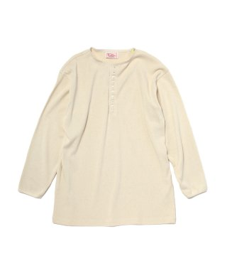 YOUNG & OLSEN COTTON WOOL RIB HENLEY