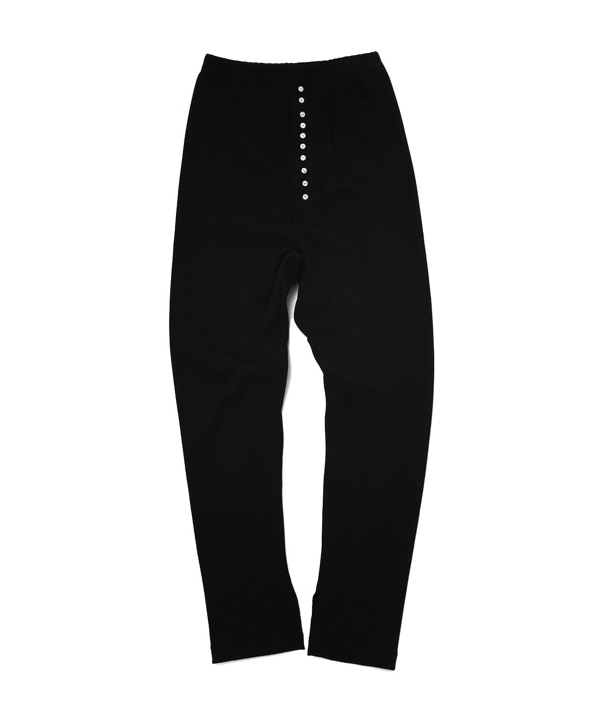COTTON WOOL RIB LEGGINS