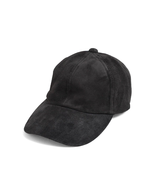 ヤングアンドオルセン PIG SUEDE BB CAP 詳細画像1