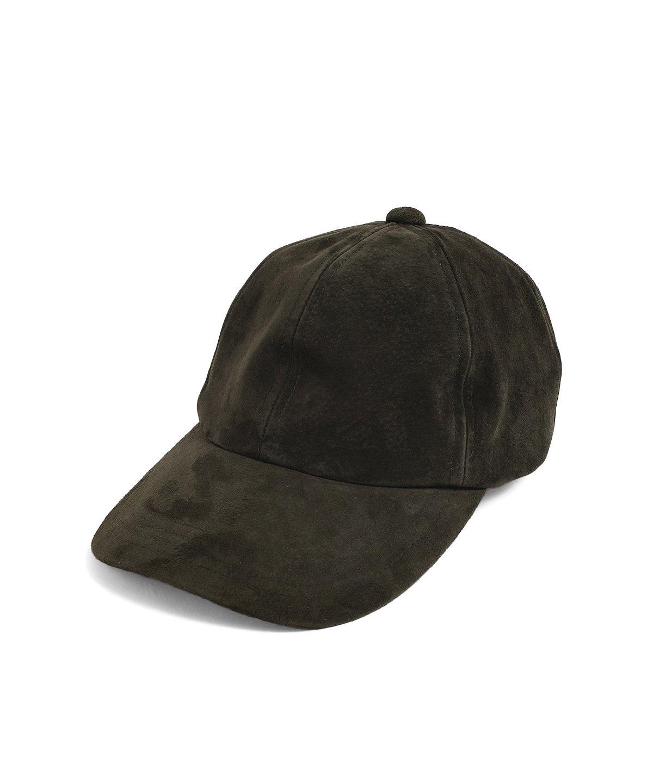 ヤングアンドオルセン PIG SUEDE BB CAP 詳細画像3