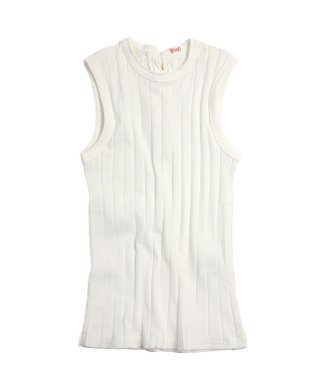 YOUNG & OLSEN BROAD RIB BACK LACE TANK