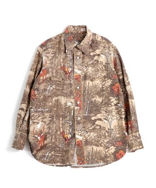 YOUNG & OLSEN FLANNEL WESTERN SHIRTS