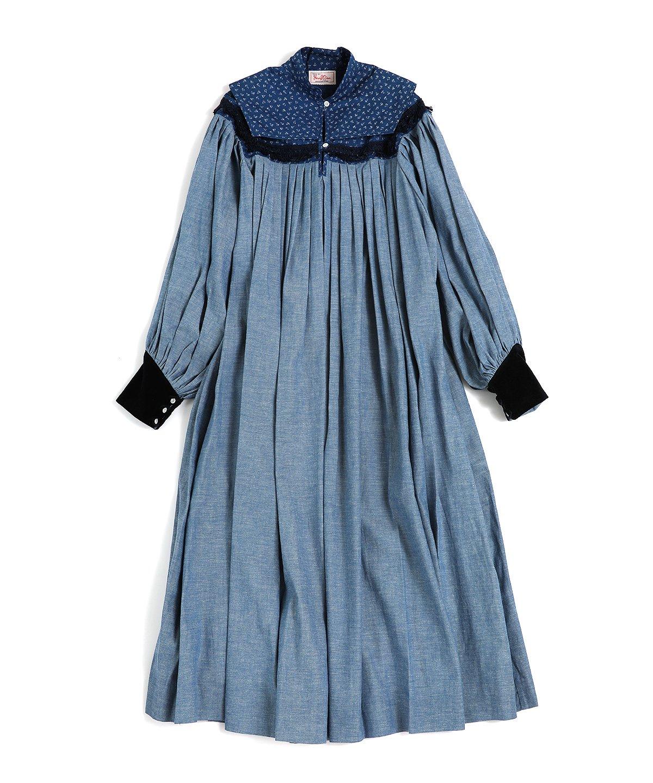ヤングアンドオルセン SANTA FE PLEATED DRESS 詳細画像1