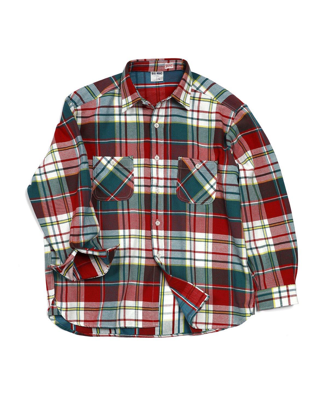 ヤングアンドオルセン 【BIGMAC×YOUNG & OLSEN】ネルシャツ/チェックシャツ 詳細画像2