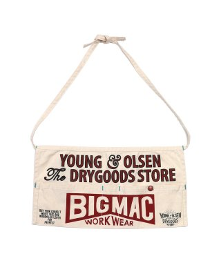 YOUNG & OLSEN 【BIGMAC×YOUNG & OLSEN】ワークエプロン/ガーデニング