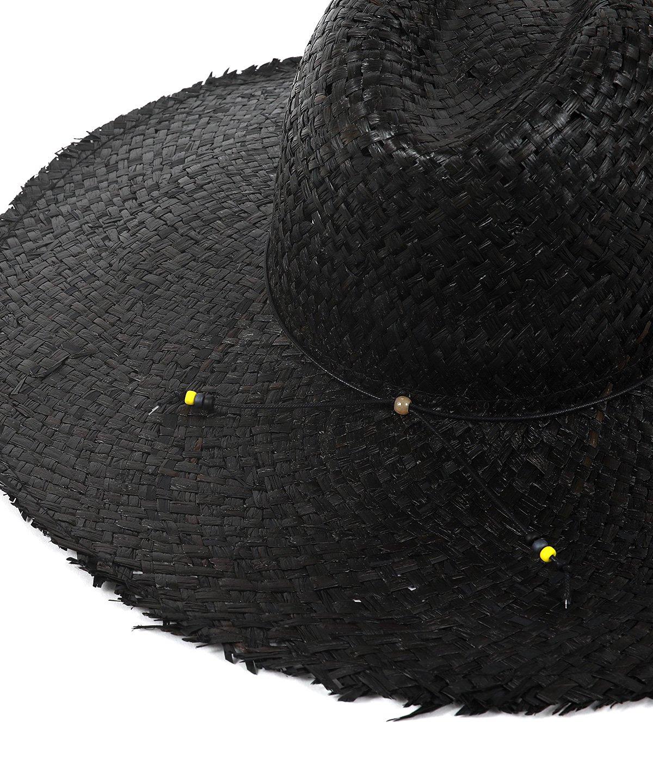 ヤングアンドオルセン WIDE BRIM RAFFIA HAT 詳細画像6