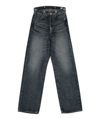 YOUNG & OLSEN 20'S WIDE JEANS (WASHED OUT)