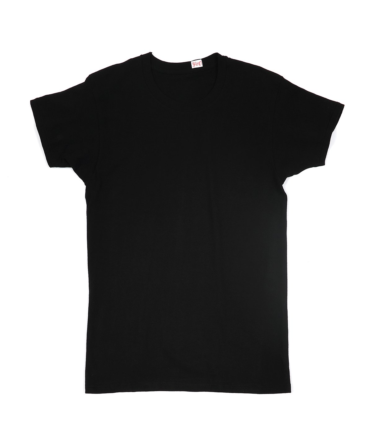 LOOP WHEELED SIMPLE TEE