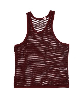 YOUNG & OLSEN FISHERMAN MESH TANK TOP
