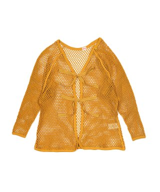YOUNG & OLSEN FISHERMAN MESH CARDIGAN