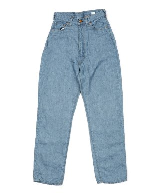 YOUNG & OLSEN 30'S LADY LINEN JEANS (BLEACH)