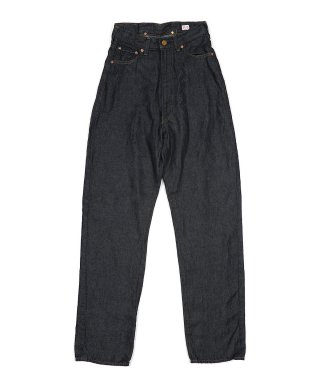 YOUNG & OLSEN 30'S LADY LINEN JEANS (ONE WASH)
