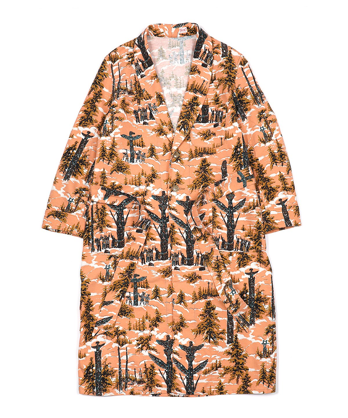 COTTON FLANNEL GOWN