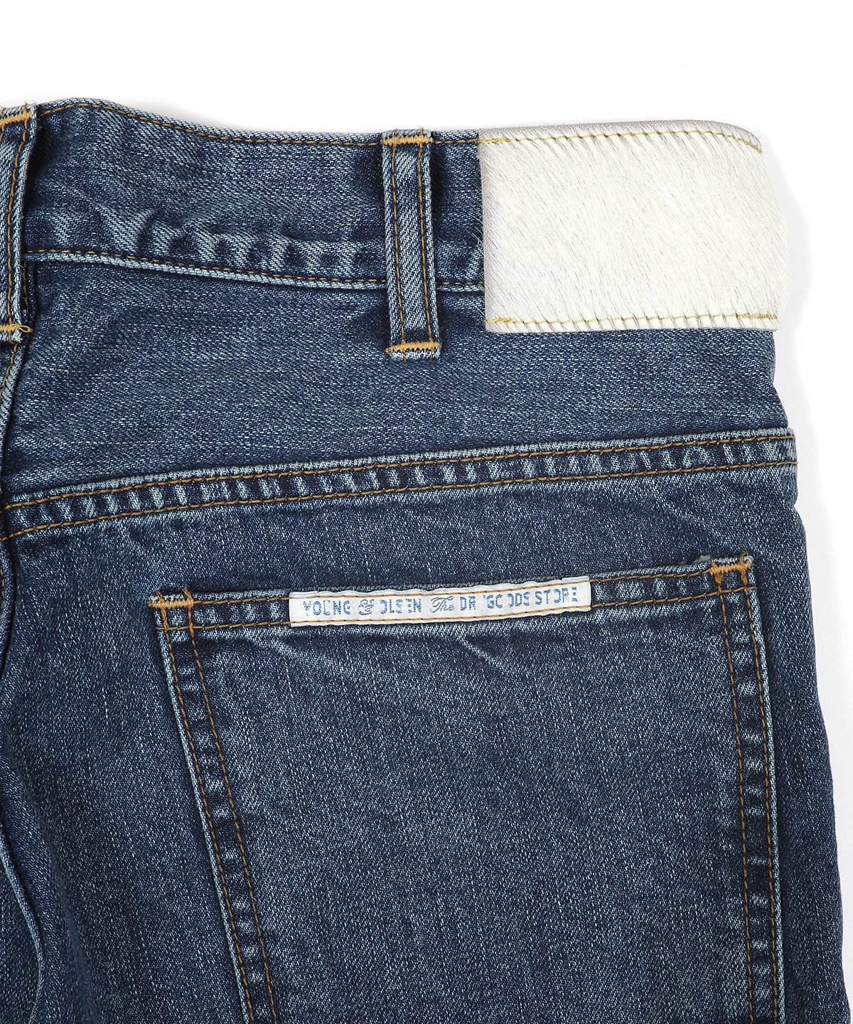 70'S HIP JEANS (WASHED OUT)